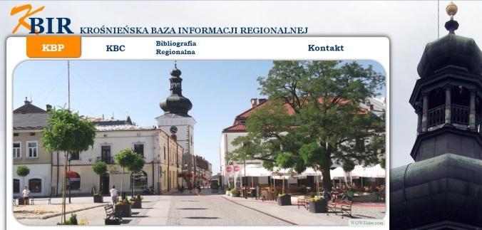 Krośnieńska Baza Informacji Regionalnej - aktualności.jpg